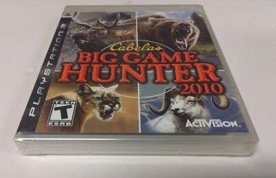 Cabela's Big Game Hunter 2010 (Sony PlayStation 3, 2009) NEW PS3 comprar usado  Enviando para Brazil