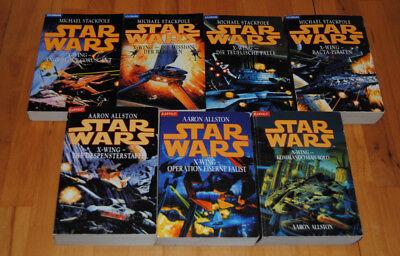 Star Wars - X-Wing Romanreihe 7 Bücher gebraucht kaufen  Kamen