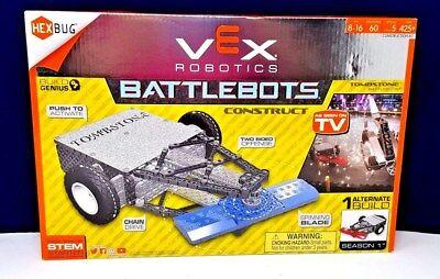 HEXBUG VEX Robotics Tombstone Battlebot Building Set New! Free Shipping!!