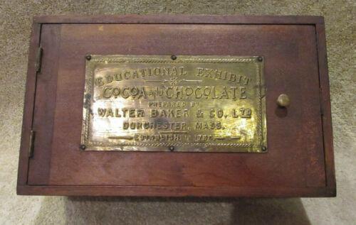 Antique Educational Exhibit Cocoa & Chocolate Walter Baker & Co. Salesman Sample