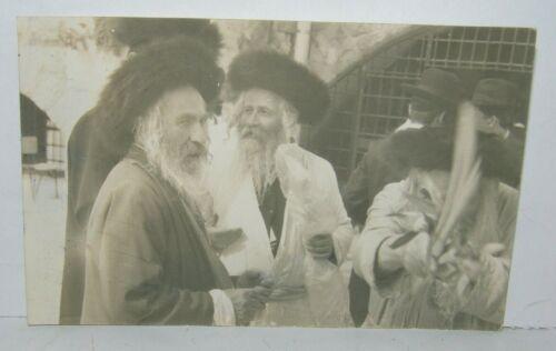 Jewish Judaica Jerusalem rabbi Horowitz Western wall Sukkot photo הורוביץ