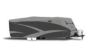 Adco 52240 RV Cover | Travel Trailer | Designer Series SFS Aquashed | 18'1