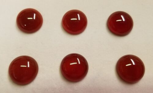 4pcs Carnelian Calibrated Round Cabochon 10mm 12mm 14mm 16mm HIgh Quality Gems