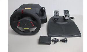 Logitech MOMO Racing Steering Wheel & Pedal for PC or Mac