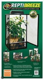 New ZooMed ReptiBreeze Terrarium 41x41x76cm