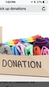 Available to pick up your unwanted items for donation !!