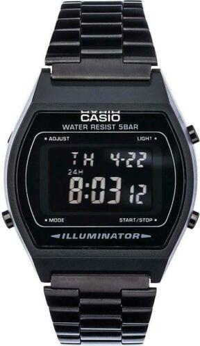 Casio Collection B640WB-1BEF - Zwart Staal - Ø 35 mm