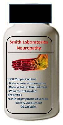 Clinical Strength Neuropathy Pain Relief  Nerve Support 90 Capsules