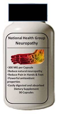 Neuropathy Clinical Strength  For Pain Relief And Nerve Support 90 Capsules