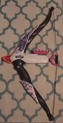 Nerf Rebelle Heartbreaker Bow Phoenix  Comes With 11 Bullets