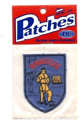 Tennessee Founder Travel Souvenir Patch - Brand New - Free Shipping!