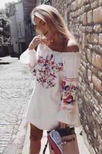 Free People Embroidered Dress, new with tags