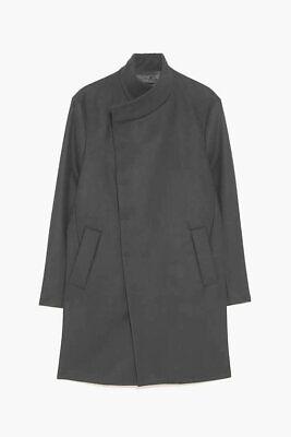 ZARA MENS BLACK COAT XL BNWT