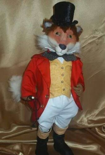 """*NEW* CLOTH ART DOLL (PAPER) PATTERN """"FOX HUNTING"""" BY SUZETTE RUGOLO"""