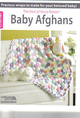 The Best of Mary Maxim Baby Afghans ~  Crochet Book  ~ 32 pages long ()