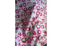 Next girls bedroom/ nursery curtains