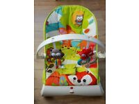 Fisher Price Woodland Friends - Comfort Curve Bouncer
