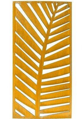 Privacy Screen 2x4', Fern Art Panel, Modern Art, Outdoor Privacy, Privacy Panel ()