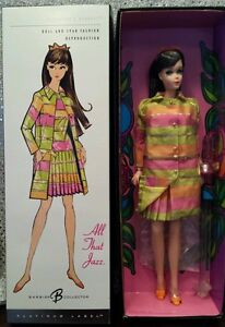 All That Jazz Barbie Platinum Label Brunette 2005 Vintage Repro MINT
