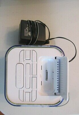 Audiovox Venturer CR8030iE5 Dual Alarm Clock, AM/FM Radio / Dock for iPod/iPhone