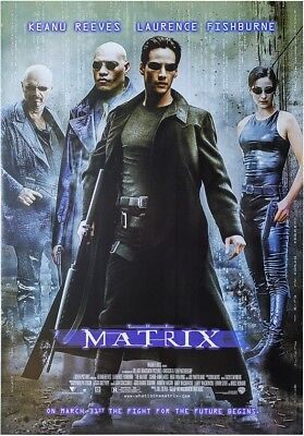 THE MATRIX MOVIE POSTER, USA Version (Size 24 x 36)