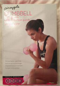 Ladies Pineapple Dumbbell Set Boxed Brand New & Unused Ideal Home Kit Fit Fitness Gym Exercise