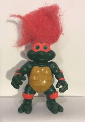 Tmnt Troll Actionfigur Vintage 1993 Spielkameraden Michelangelo Selten Htf (Tmnt Michelangelo Action Figur)