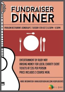 Fundraising Dinner Perth Region Preview