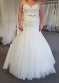 Brand New White Wedding Dress, UK 12 - Bridal 14