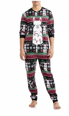 NWT Mens Union Jack Falallama Christmas Union Suit One Piece Pick (Union Jack One Piece)