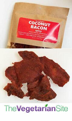 NaamNom's Vegan Coconut Bacon Spicy - FREE SHIPPING - vegetarian - meatless gift