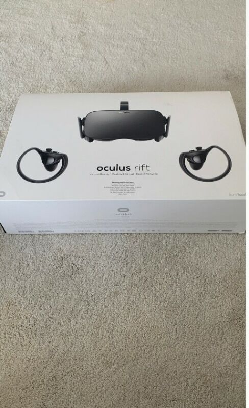 Oculus Rift CV1 - controllers, censors, and headset. Used