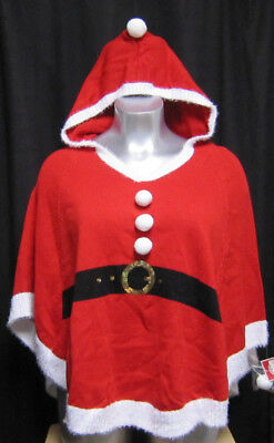 Ladies Little Red Santa Cape with Hood XXL 20 (Red Hood Cape)