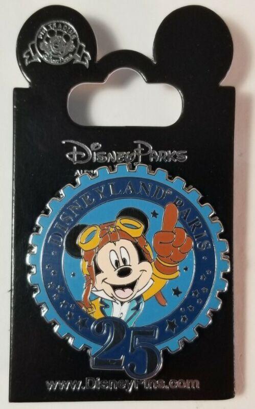 Disney Pin - Disneyland Paris 25th Anniversary Starter Kit - Mickey #121342 NEW