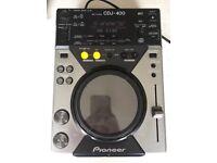Pioneer CDJ 400 CDTurntable deck Single Cdj400 DJ USB COMPATIBLE MEMORY STICK