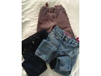 3 pairs next jeans size 5
