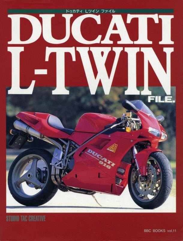 [BOOK] DUCATI L-TWIN FILE 916 851 750F1 MHR MILLE SENNA 900SS M900 888 F3 Japan