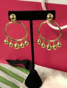 BNWT Authentic Kate Spade Gold Earrings