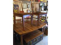 Vintage Gplan table and 4 chairs