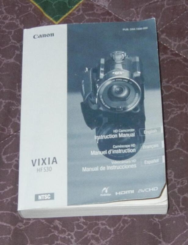 Canon Vixia HF530  instruction manual