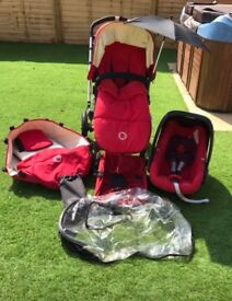 Bugaboo Frog Pram/Pushchair/Stroller & All Accessories