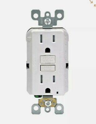 4 Leviton Gfci Electrical Outlet 125v Volt 15a Amp Tamper Resistant R92-gftr1-kw