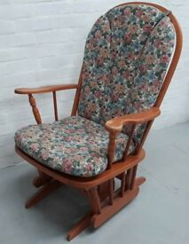 American Style Cantilever Rocking Or Nursing Chair