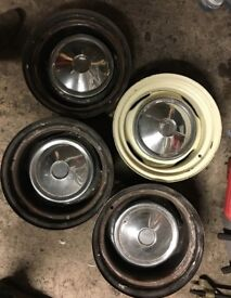 Banded wheels for Triumph Spitfire/GT6/Vitesse/Herald