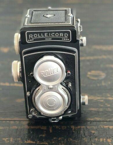 Vintage Rolleicord Synchro Compur Franke & Heidecke Camera