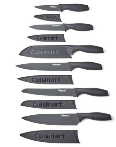 Cuisinart Advantage 12 Piece Knife Set. Matte Black