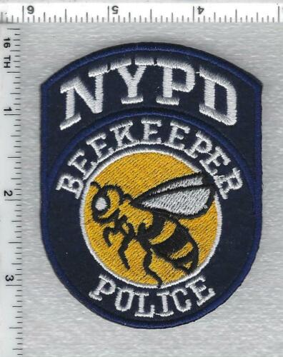 Police Beekeeper Shoulder Patch (new issue 2021)