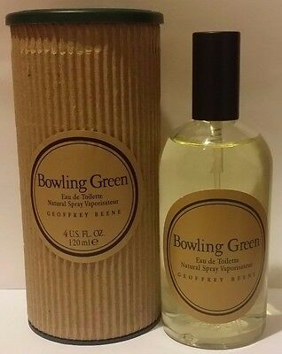 Bowling Green By Geoffrey Beene For Men Edt Cologne Spray 4 Oz   120 Ml Nib