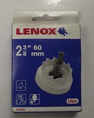 """Lenox 2-3/8"""" Carbide Hole Cutter Hole Saw 23846 USA"""