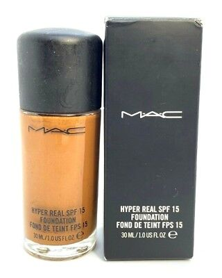 Mac Hyper Real SPF 15 Foundation ~ NC600 ~ 1 oz BNIB // See Description  for sale  Shipping to India